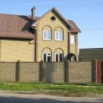 дом из гиперпрессованного кирпича