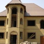 кирпичные дома фото кирпич скала