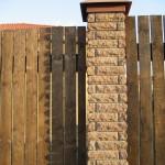 забор из кирпича евроформата фото