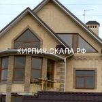 кирпичный дом с эркером фото