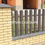 кирпич солома (желтый) скала на забор