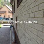 серый кирпич фото дома