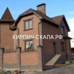 дом коттедж фото кирпичного дома