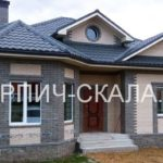 дом из кирпича слоновая кость