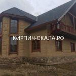 облицовочный кирпич солома колотый скала фото дома