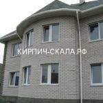облицовочный серый кирпич фото дома